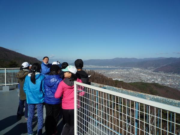 杖突峠からの景色が素晴らしい!