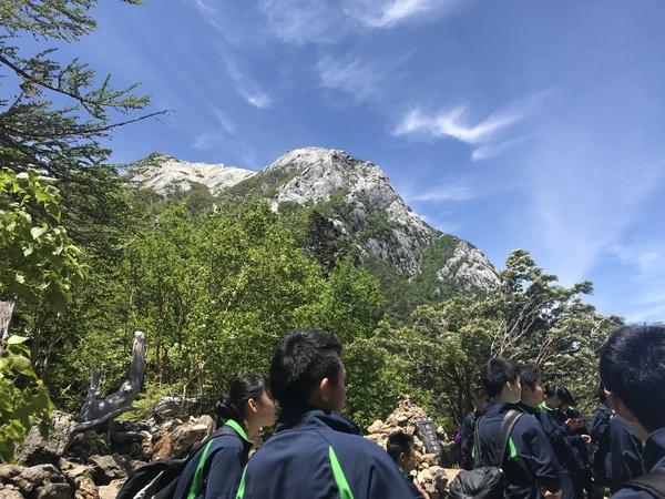 仙水峠からの景色