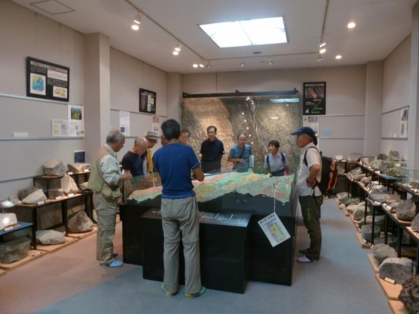 中央構造線博物館の見学