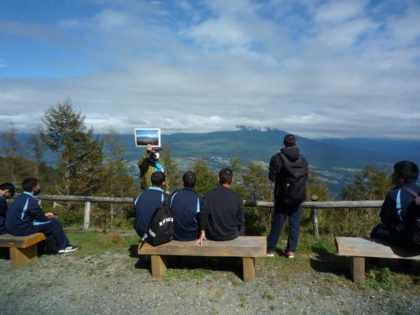 八ヶ岳ビューポイントからの景色