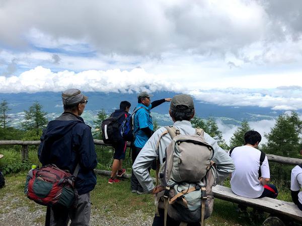 八ヶ岳ビューポイントからの景色を解説