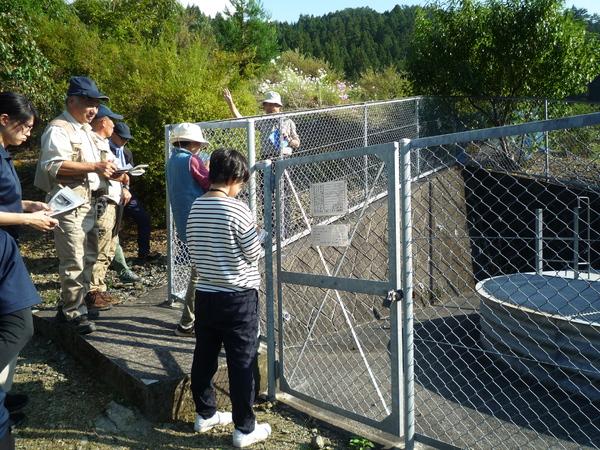 此田地区の水抜き井戸